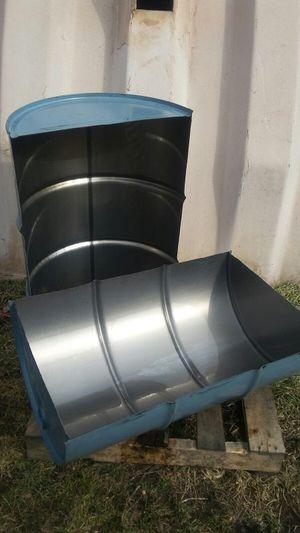 BBq - 55 Gallon Halves for Sale in Grosse Pointe Park, MI