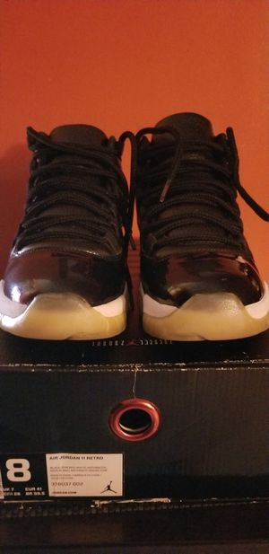 air jordan retro 11s(72-10) size 8 men for Sale in The Bronx, NY