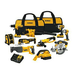 Dewalt 10 tool 20 volt power tool kit combo NEW for Sale in Columbus, OH