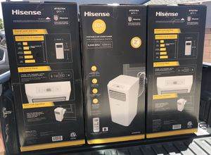 Hisense Portable Air Conditioner 200 SQ FT for Sale in South Gate, CA