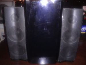 Speakers and subwoofer for Sale in Columbus, OH