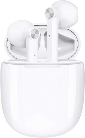 White Bluetooth Wireless In-Ear Headphones for Sale in Tampa, FL
