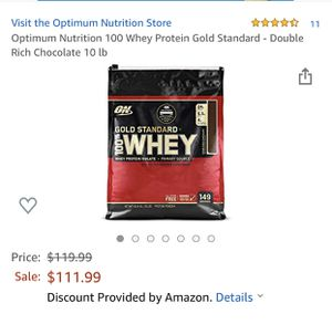 WHEY protein for Sale in Riverside, CA