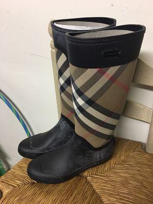 Burberry rain boots for Sale in Atlanta, GA