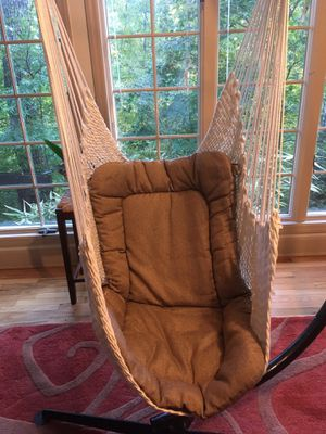Swing chair and stand for Sale in Chattanooga, TN