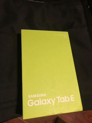 Samsung galaxy tab E 9.6 (brand new) for Sale in Queens, NY