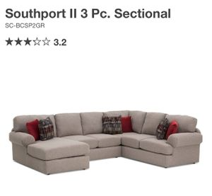 South port sectional couch for Sale in Taylor, TX