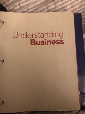 Understand business text book for Sale in Rancho Cordova, CA