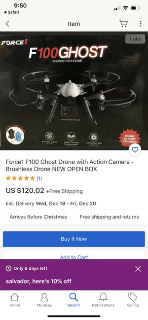 Force F100Ghost brushless drone for Sale in Ontario, CA