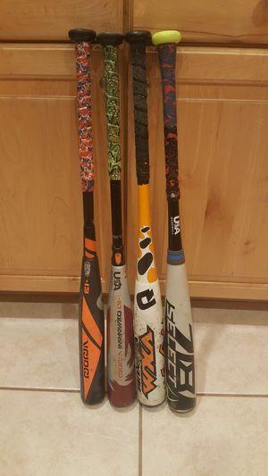 Several Baseball Bats for Sale in Oldsmar, FL