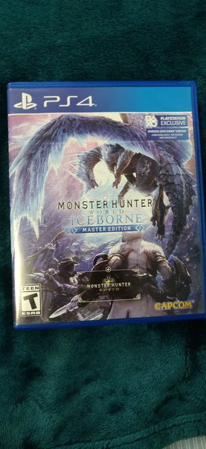 Monster Hunter world iceborne for Sale in Queens, NY