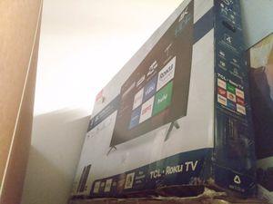 "55"" TCL 4k Roku smart led tv for Sale in Norwalk, CA"