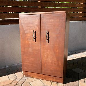 Vintage Mid Century Mahogany Bar Cabinet for Sale in Long Beach, CA