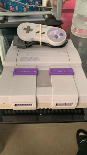 Super Nintendo for Sale in Worcester, MA