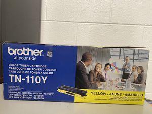 Brother- TN-110Y/ quantity 1- Yellow, HL-4040CN/4040CDN/4070CDW/DCP-9040CN/9042CDN/9045CDN-MFC-9440CN/9450CDN/9840 CDW for Sale in Chicago, IL