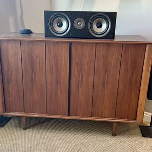 Polk Monitor Bookshelf and Center Speakers - Cherry for Sale in Spring Valley, CA