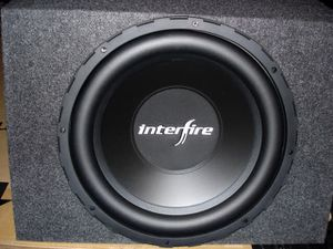 """2- 10"""" interfire subs (factory lifetime warranty) for Sale in Orlando, FL"""