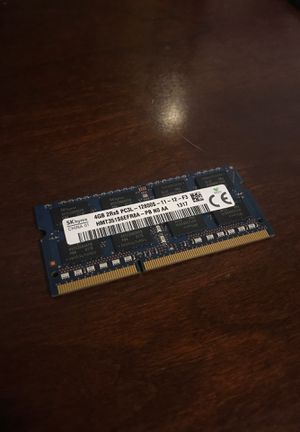 Laptop memory ram for Sale in Cypress, TX