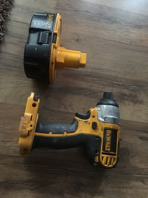 DeWALT Lithium DC825 18v cordless impact driver / drill and battery for Sale in Asheville, NC