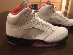 New Nike Air Jordan 5 Retro Fire Red 2020 Sneaker for Sale in Las Vegas, NV