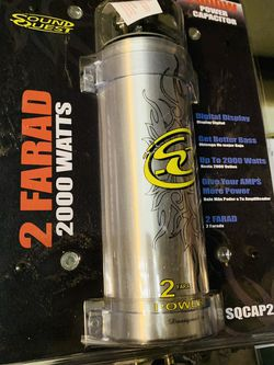 SoundQuest Capacitor for Sale in San Bernardino,  CA