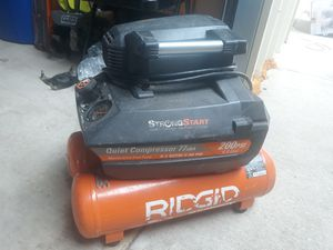 Ridgid 4.5 gal compressor for Sale in San Antonio, TX