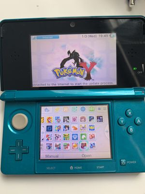 Baby Blue Nintendo 3DS modded with over 300+ games for Sale in Irvine, CA