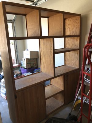 Wall unit - Bookshelves - entertainment center for Sale in Phoenix, AZ