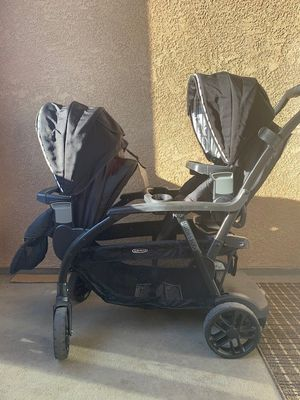 Graco duo double stroller for Sale in San Ramon, CA