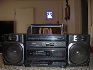Sanyo M9100 Portable Audio System Boombox AM/FM Stereo Cassette Recorder for Sale for Sale in San Jose, CA