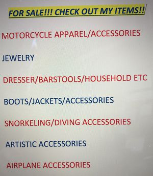 Check out items! for Sale in Poway, CA