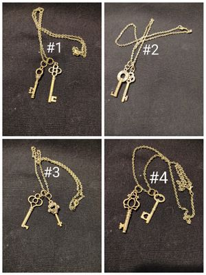 24 Styles Bronze Charm Necklaces for Sale in Lewisville, TX