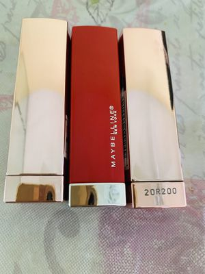 Maybelline lipstick 3 for $10 for Sale in Huntington Beach, CA