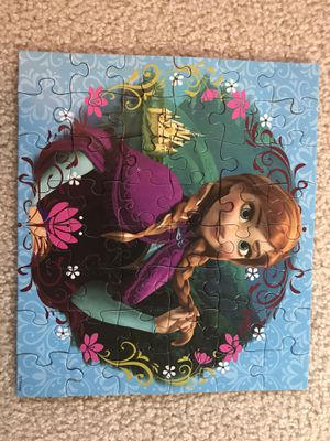 Frozen Anna Puzzle for Sale in Lynnwood, WA