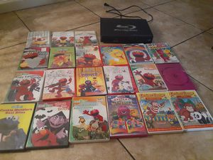 BLU-RAY DVD PLAYER/EDUCATIONAL DVD'S for Sale in Upland, CA