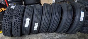 295 75 22.5 STEER TRACTION TRAILER COMMERCIAL TRUCK TIRES for Sale in Rancho Cucamonga, CA