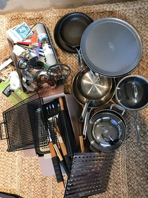 Moving sale kitchen cookware grill basics lot for Sale in Seattle, WA