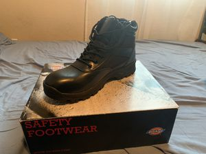 Dickies Work Boots: Size:10 wide for Sale in Fresno, CA
