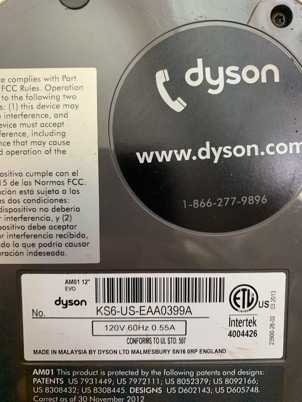 "DYSON 12"" TABLE FAN (price firm)"