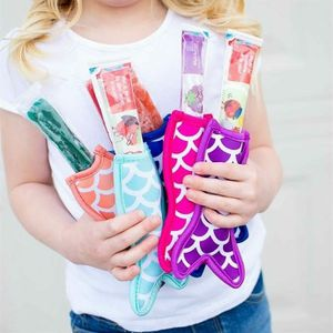 Mermaid tail popsicle koozie holderrs for Sale in York, PA