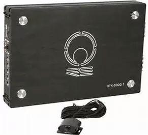 RE AUDIO XTX3000.1 3k watt amp