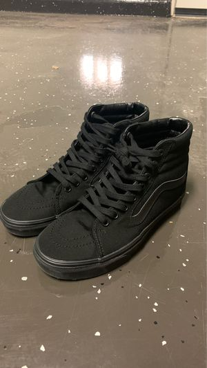 Vans All Black High Top Size 6.5 for Sale in Laveen Village, AZ