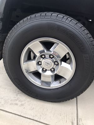 Toyota OEM rims on Michelin tires 265/70/16 $500 for Sale in Tustin, CA