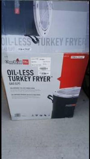 CharBroil Oil-less Turkey Fryer for Sale in Menifee, CA