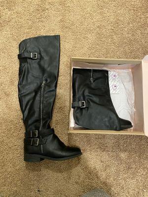 Black Charlotte Russe boots for Sale in Rio Vista, CA