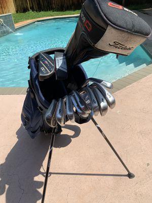 Full Golf Club set Titleist Irons + Driver, Adams Hybrid, NC Putter for Sale in Pompano Beach, FL