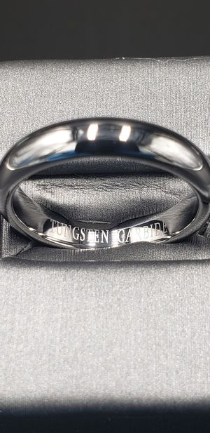 Tungsten Carbide Comfort Fit Band/Ring for Sale in Phoenix, AZ