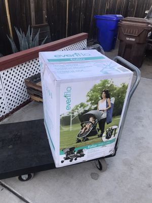 Evenflo folio travel system for Sale in Highland, CA