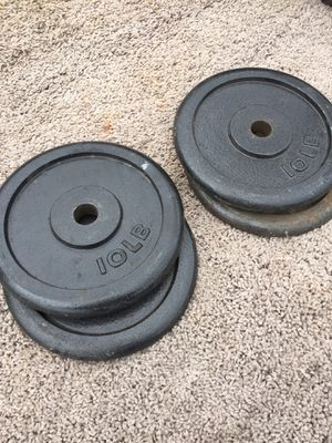 STANDARD WEIGHTS 4/10s for Sale in San Diego, CA