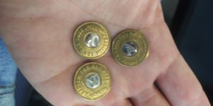 3 Youth Bus Tokens for Sale in San Jose, CA